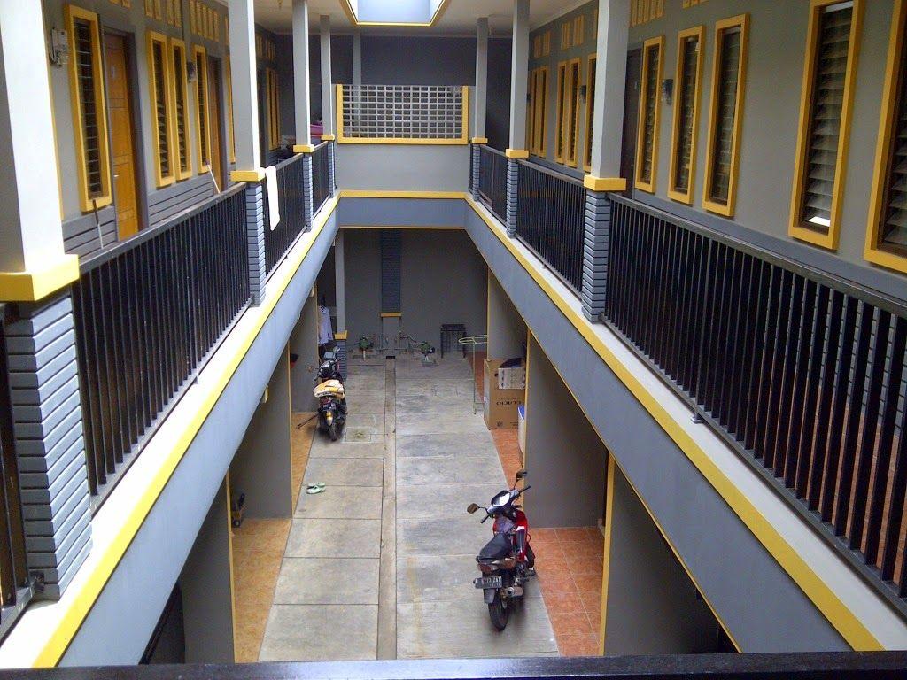 Desain Rumah Kontrakan 2 Lantai Konsep Kost Kostan