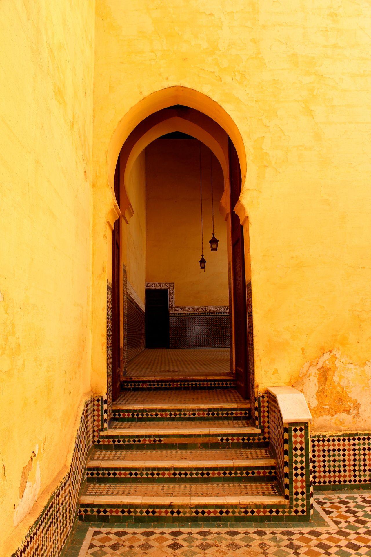 Keyhole Doorway