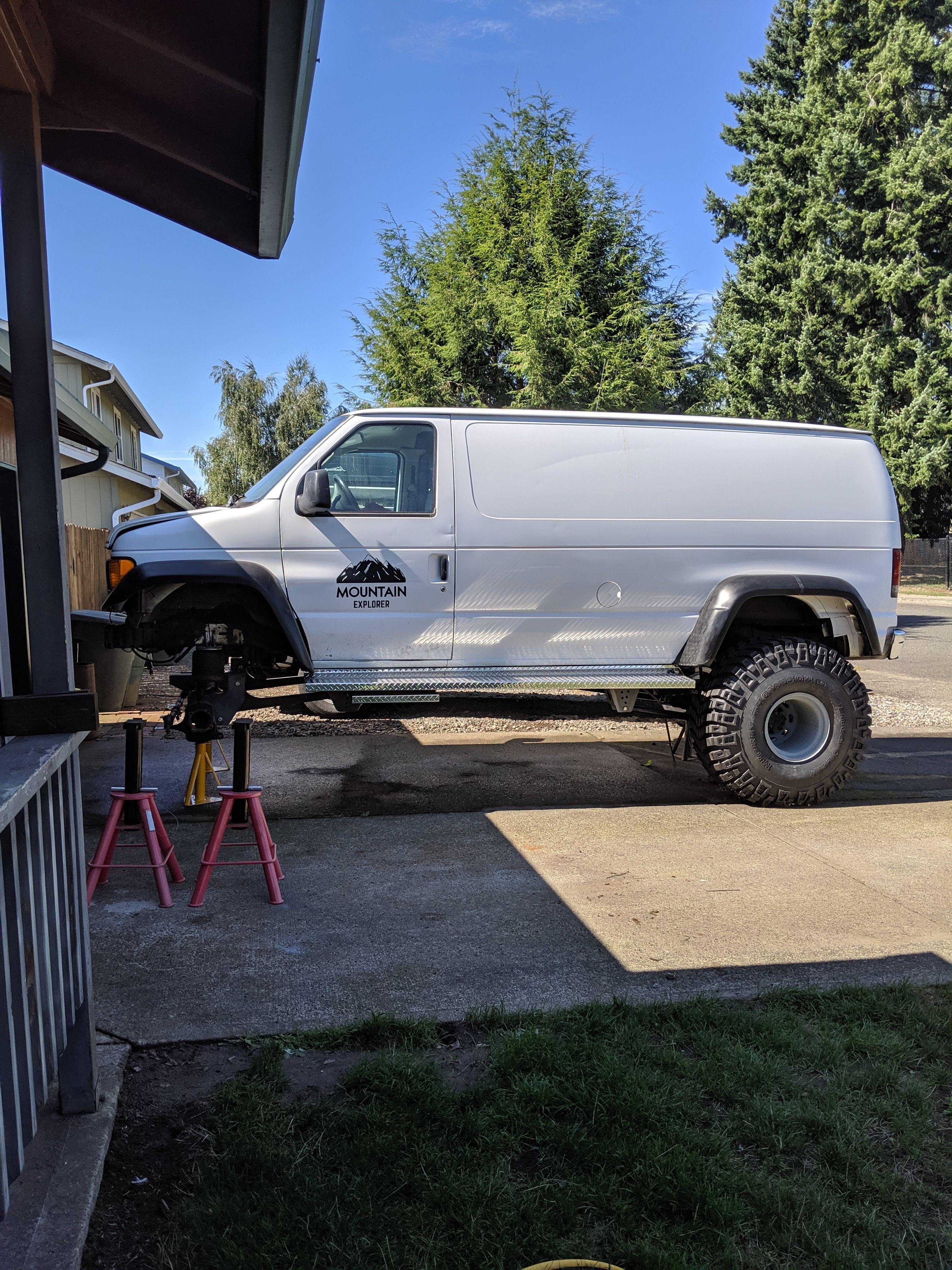 Pin By Thunders Garage On 4x4 Awd Vans 4x4 Car Vans