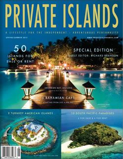 Image result for Private Islands magazine
