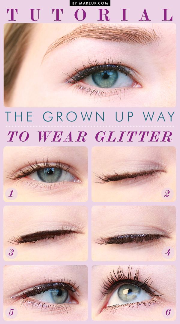 tuesday tutorial the grown up way to wear glitter glitter eyeliner and sparkly eye makeup. Black Bedroom Furniture Sets. Home Design Ideas