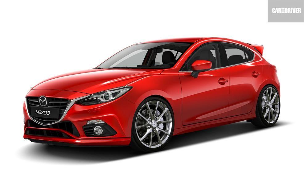 2017 Mazdaspeed 3 Artist S Rendering Pictures Mazda Cars