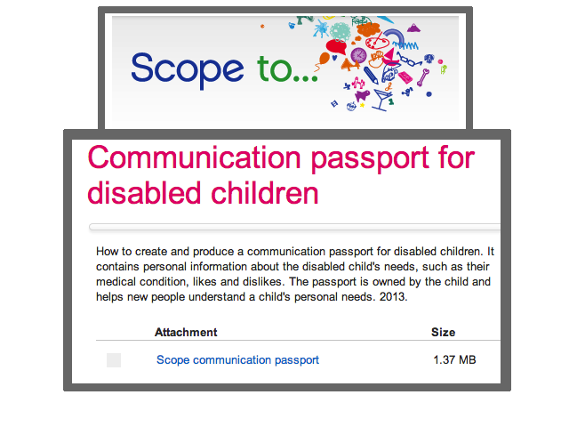 Easybee S Top 5 Communication Passports For Disabled Children And Adults Special Education Communication Disabled Children Communication