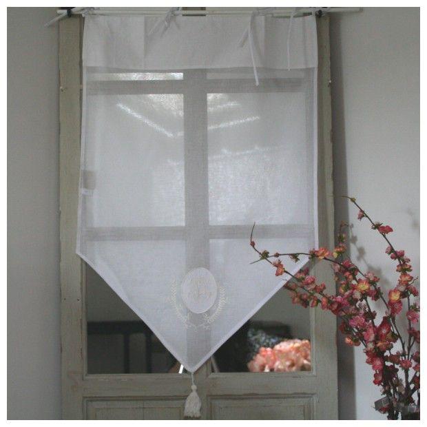 45 rideau en pointe rideaux voilage