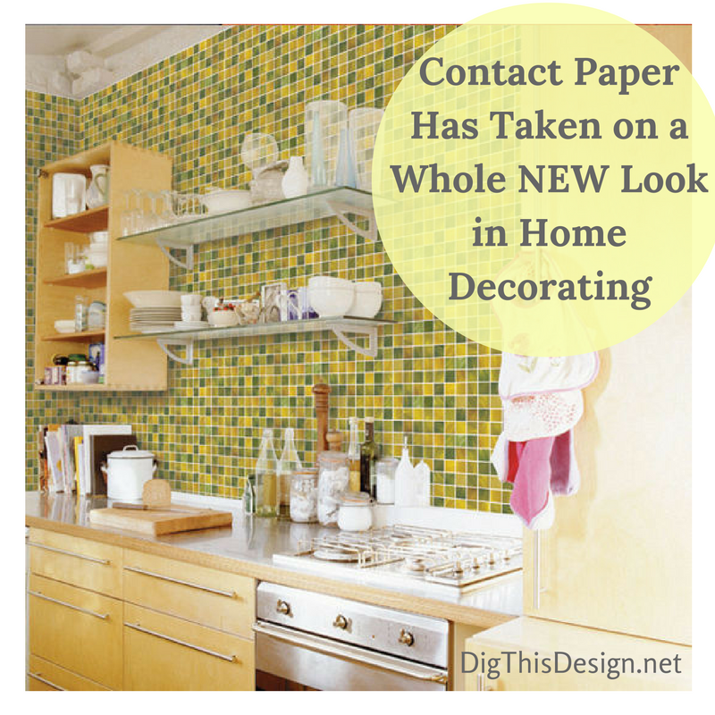It\'s not your mamma\'s contact paper any more! Contact paper has come ...
