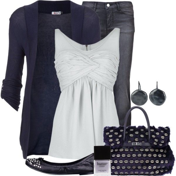 """""""Navy & White"""" by lagu on Polyvore"""