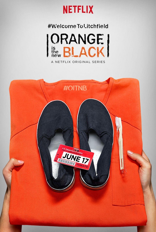 ORANGE IS THE NEW BLACK Season 4 Trailer, Images and Poster   Black tv series, Orange is the new black, Orange is the new