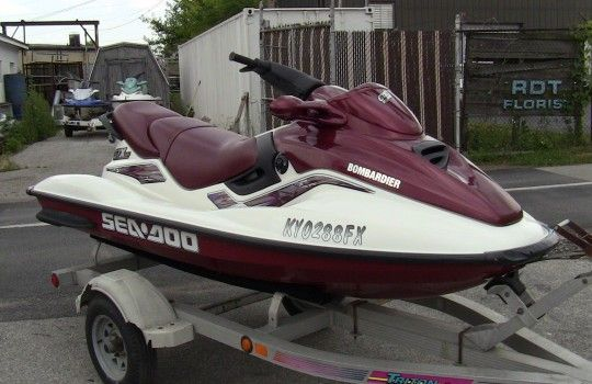 1999 seadoo gtx limited jet ski 2 stroke engine for