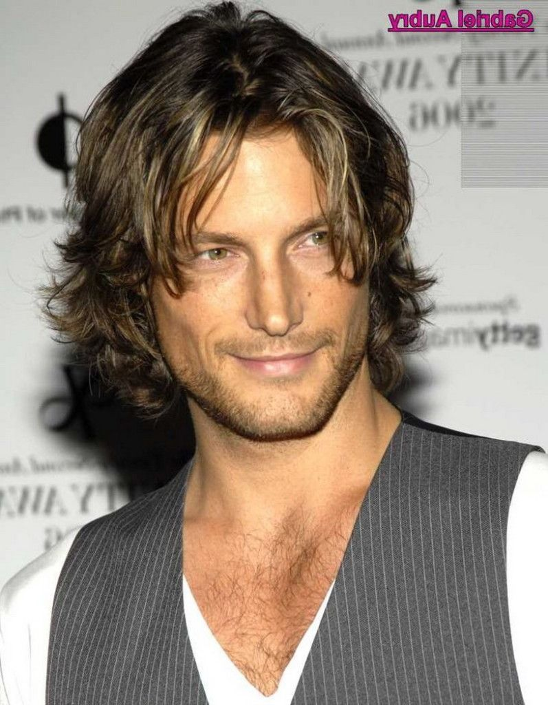 long curly hairstyles for men - men's medium hairstyles and also