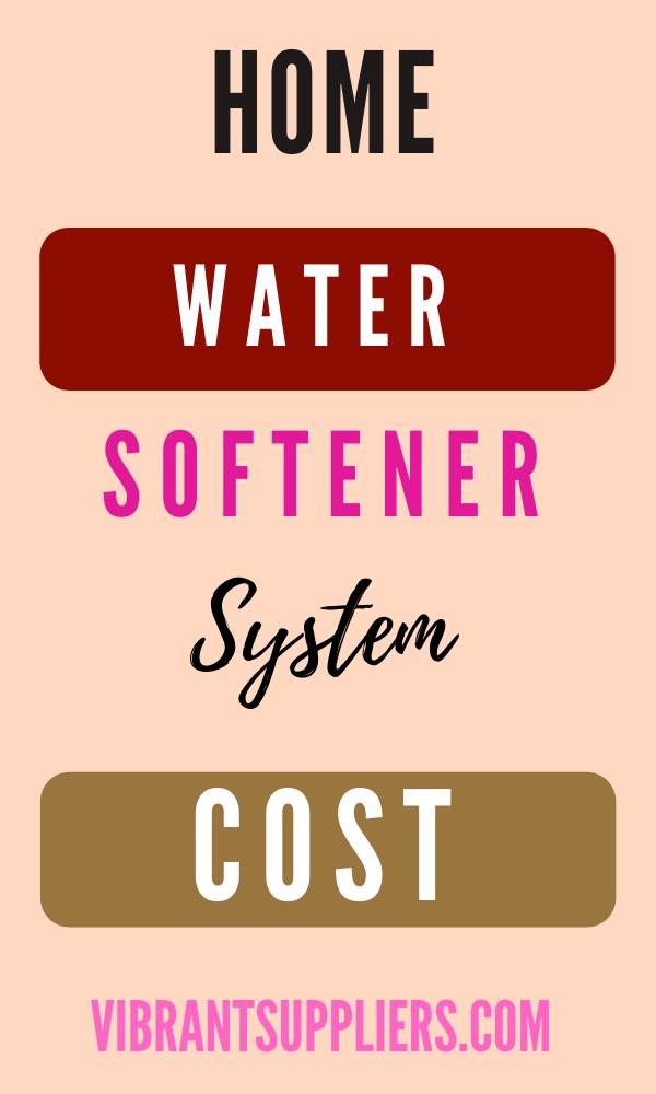 Water Softener System Cost 2020 Water Softener Installation Cost 2020 In 2020 Water Softener Water Softener System Softener