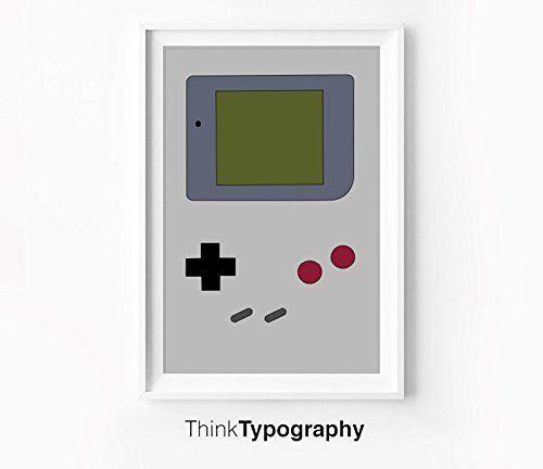 Nintendo 64 Gameboy Poster