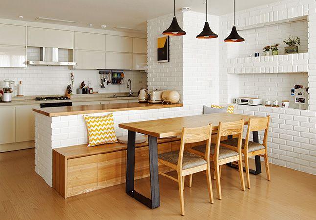 신혼집 인테리어 팁 워너비 공간 10 네이버 매거진캐스트 부엌 인테리어 디자인 부엌 디자인 모던 부엌 디자인