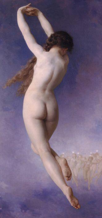 L'Etoile Perdue - William Adolphe Bouguereau c. 1884.