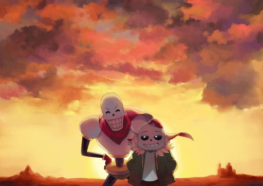 sans and papyrus - skelebros