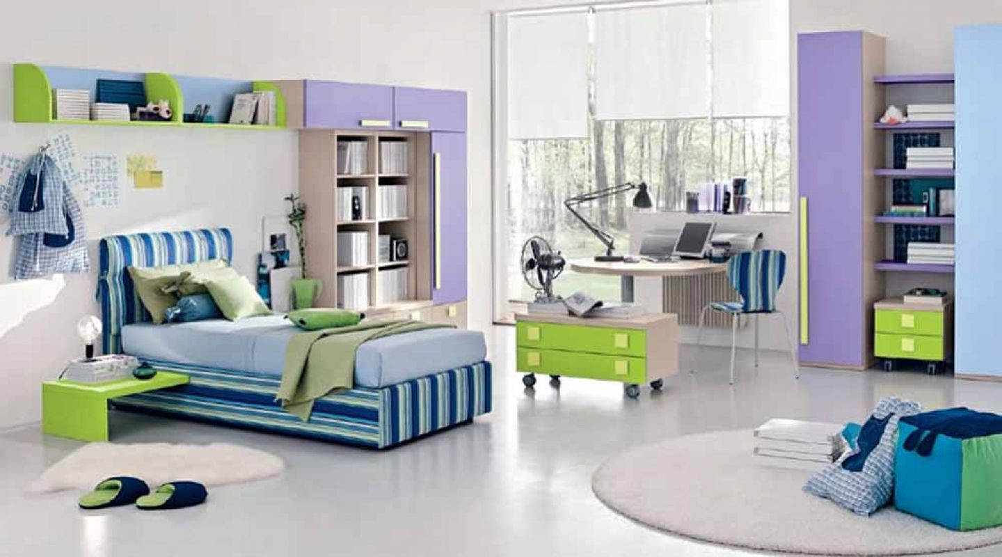 Teen Room Cleanly White Ceramic Floor With Round Rugs Plus Blue Purple Teenage  Bedroom Interior Decorating Idea Flame Young Soul Spirit By Energetically  ...