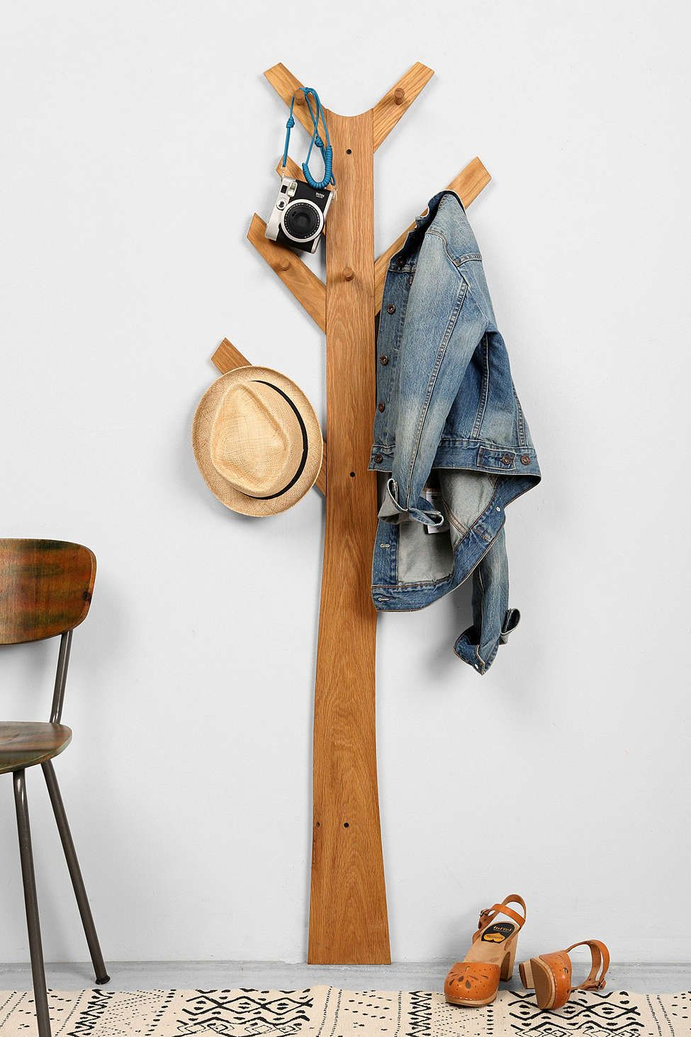 Wall Hangers For Clothes Fascinating Tree Clothes Rack  Clothes Racks Clothes And Wall Racks Decorating Inspiration