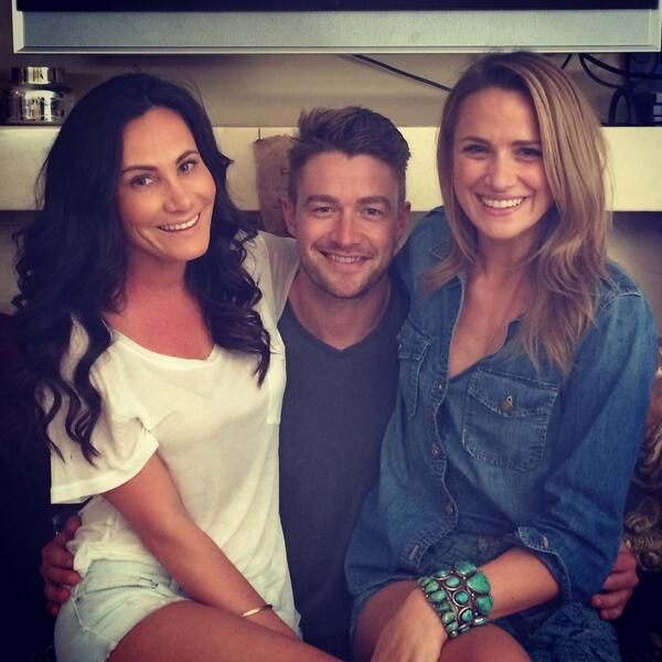 robert buckley and shantel vansanten relationship goals