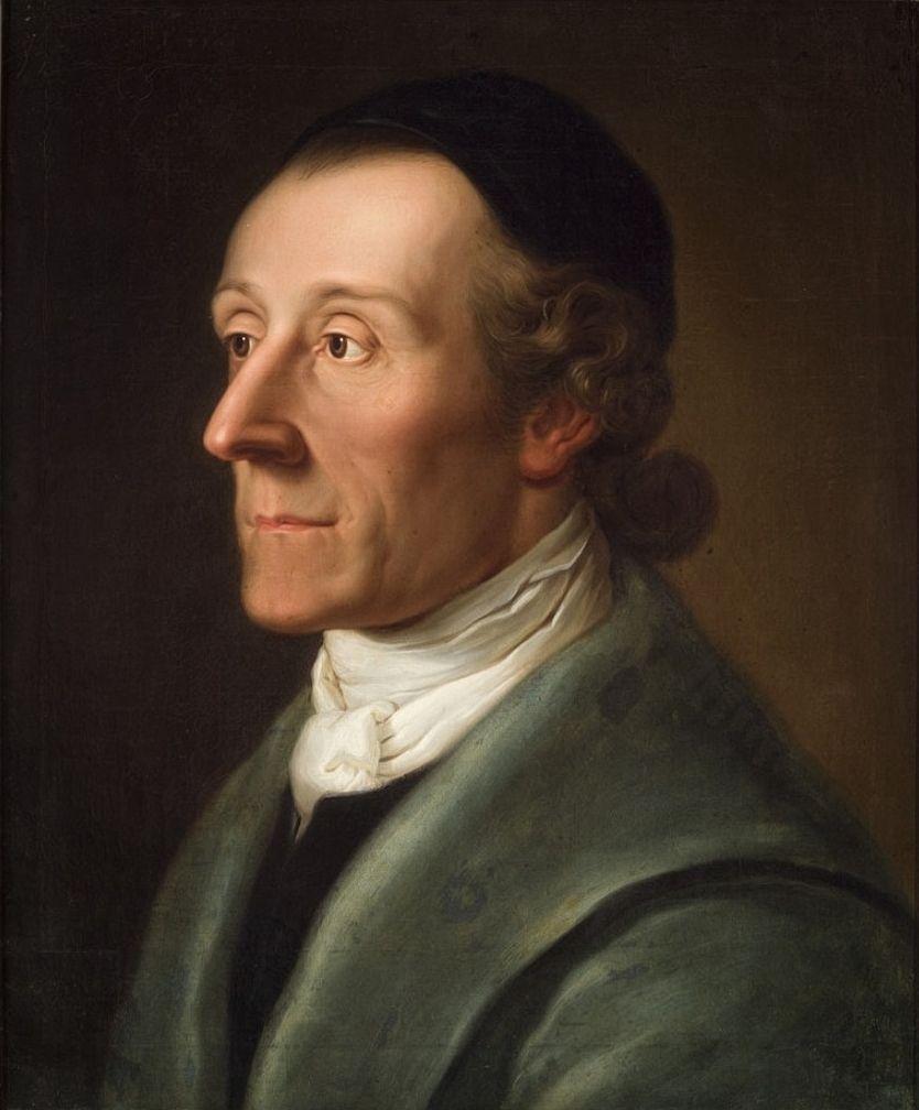 Portrait of Johann Caspar Lavater | Theologian, Portrait, Writer