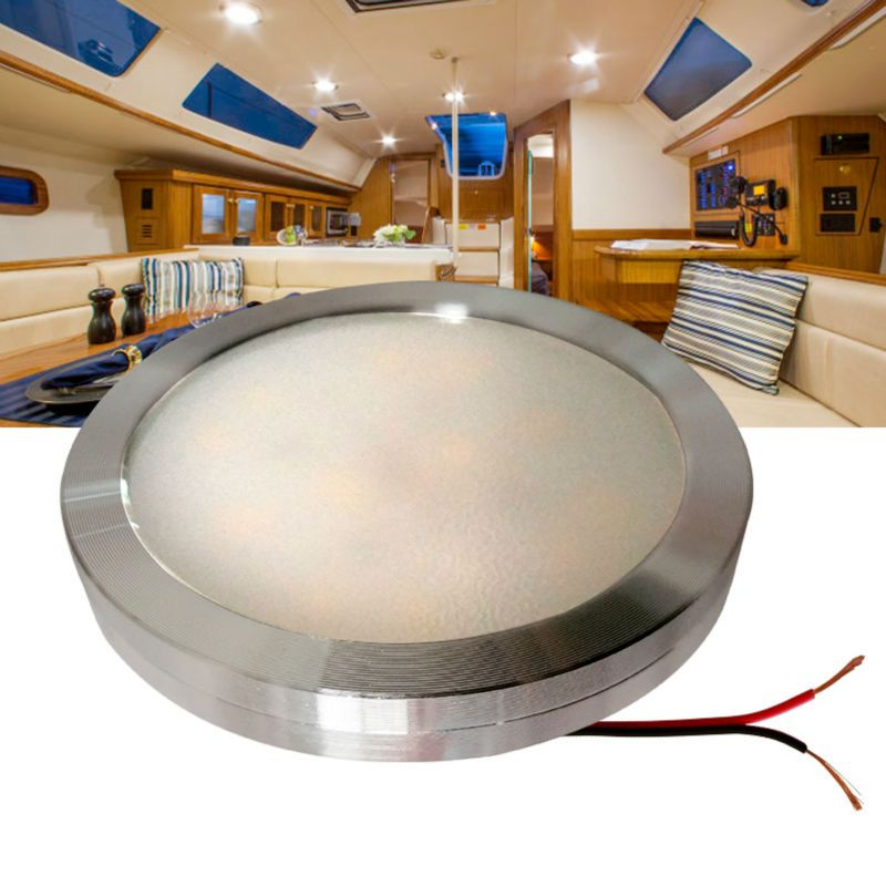 12v Dc Led Under Cabinet Light Cool White Silver Shell Caravan Rv Interior Lamp Roof Kitchen Light Bếp đen