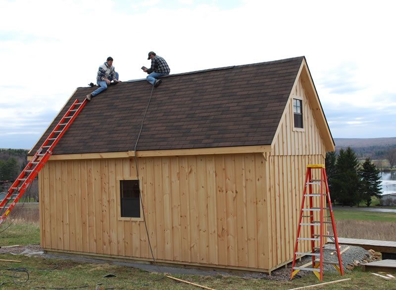 Raised roof Storage shed Shed, Roof storage, Cottage