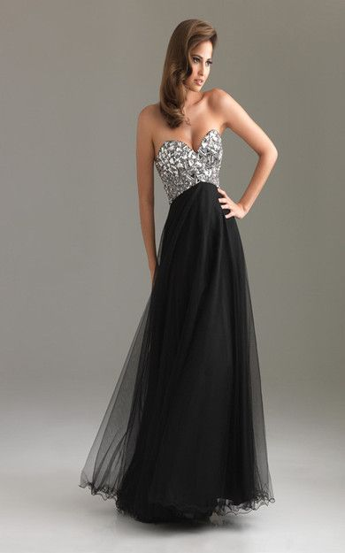 Black Floor Length Gowns Prom By Night Moves 6411 [Night Moves 6411 Black] - $175.85 : Cheap Formal Dresses, Discounted Prom Dresses at DressesBarnCheap ($100-200) - Svpply