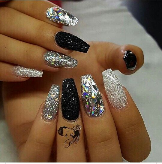 Vegas worthy nails for sure!! - Vegas Worthy Nails For Sure!! Nails Pinterest
