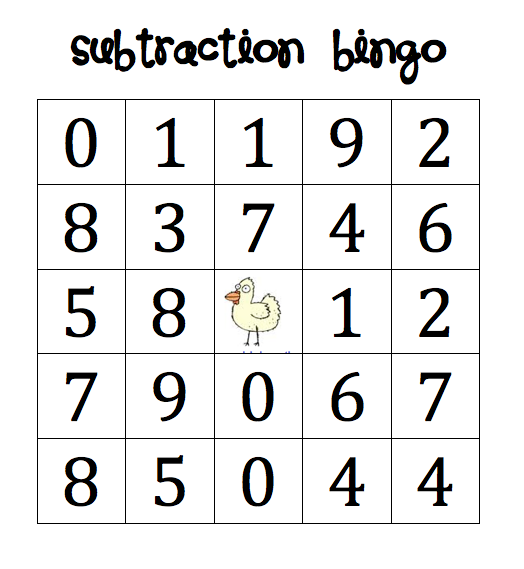 Subtraction  Writing Freebies  Math School And Math Activities