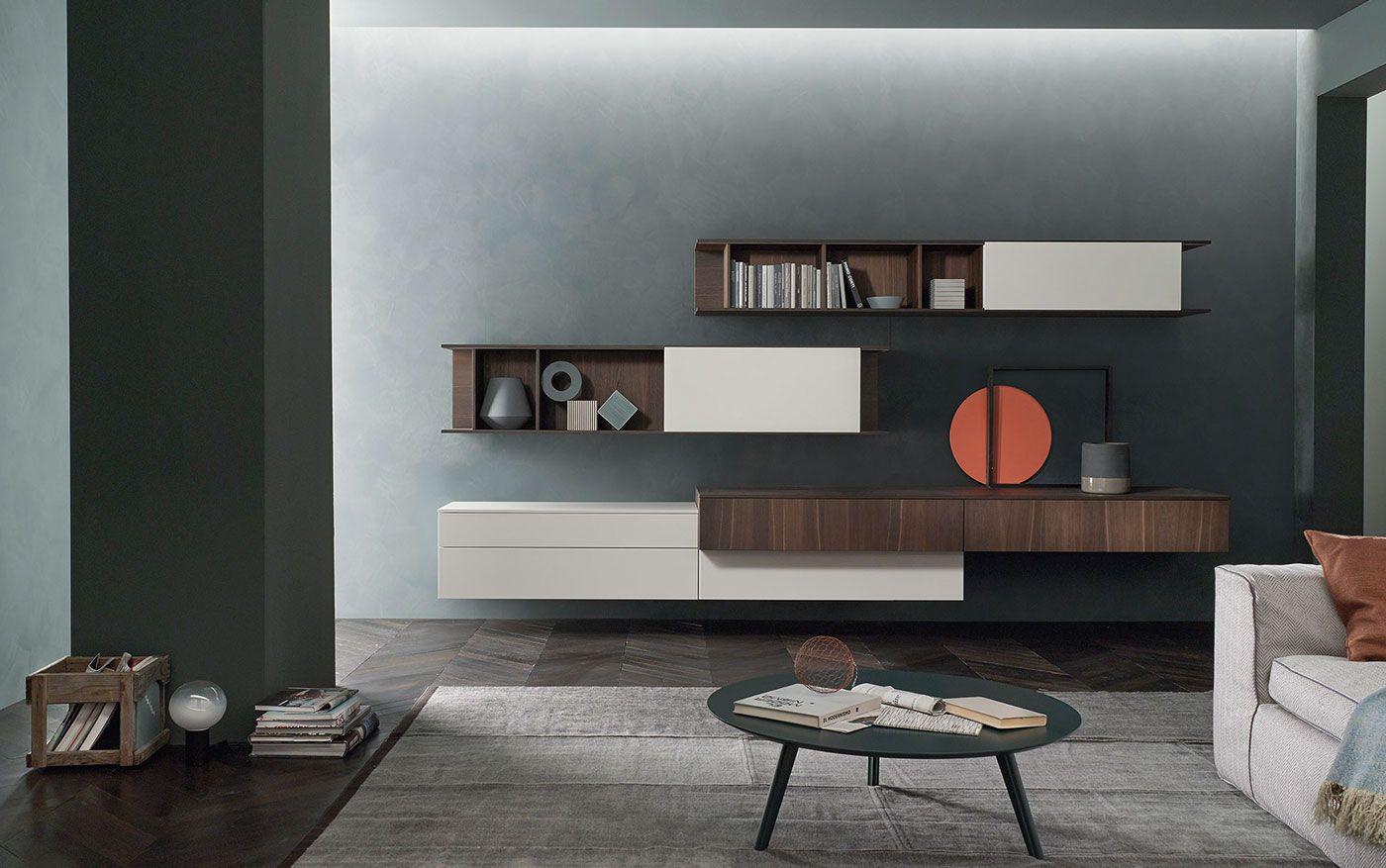 Wohnwand lampo lc möbel wohnzimmermöbel möbel für