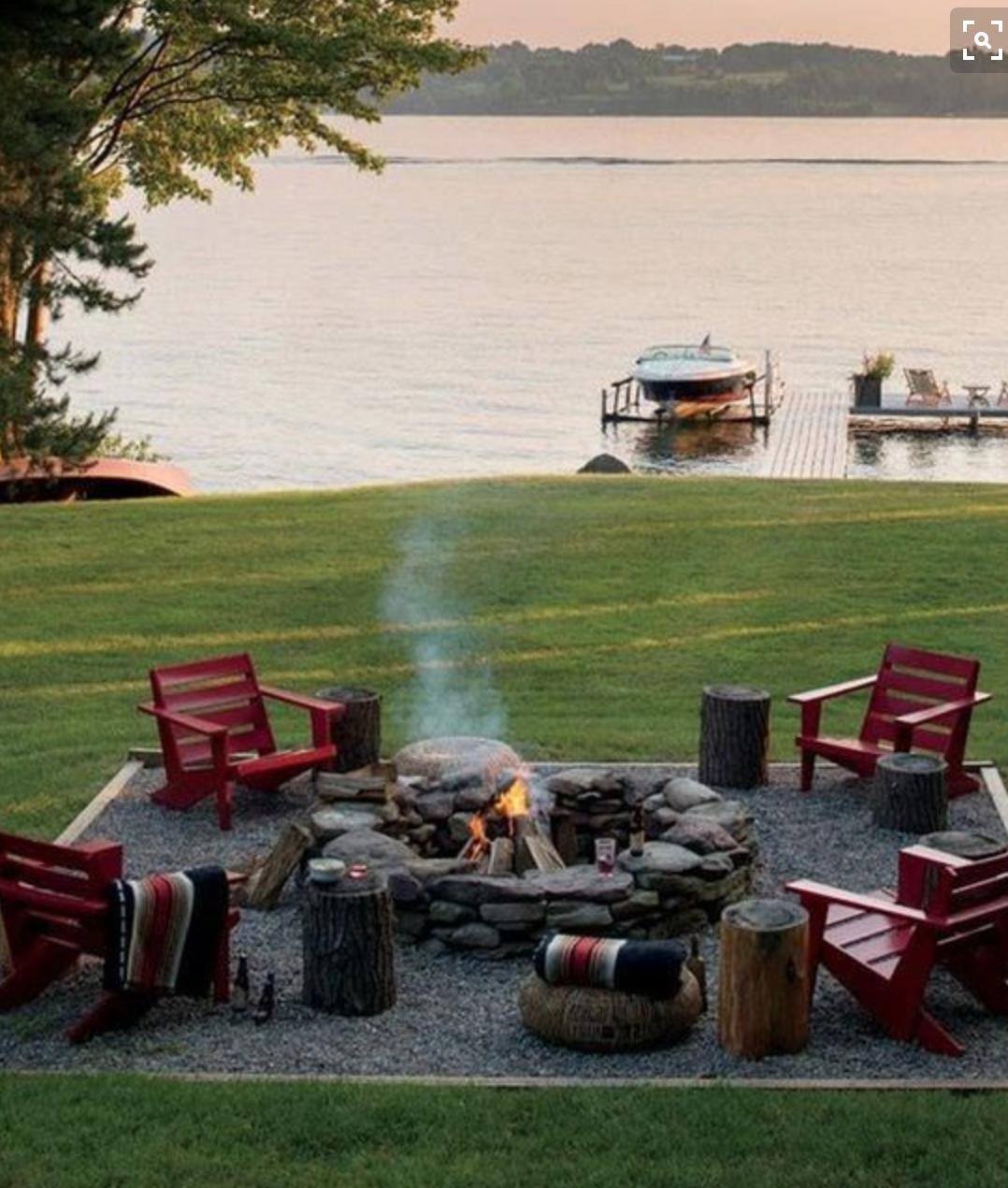 porch inspiration   Fire pit backyard, Outdoor fire ... on Fire Pit Inspiration  id=28323