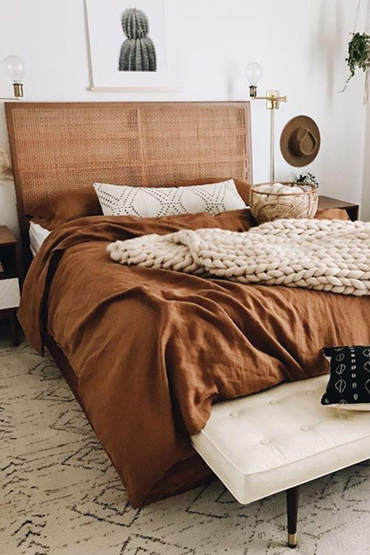 Cinnamon Linen Sheets