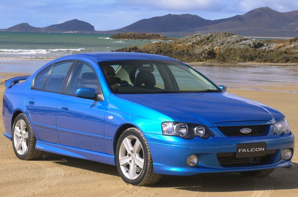 Best Selling Cars u2013 Mattu0027s blog » Australia 2003 Ford Falcon . : ford australia used cars - markmcfarlin.com