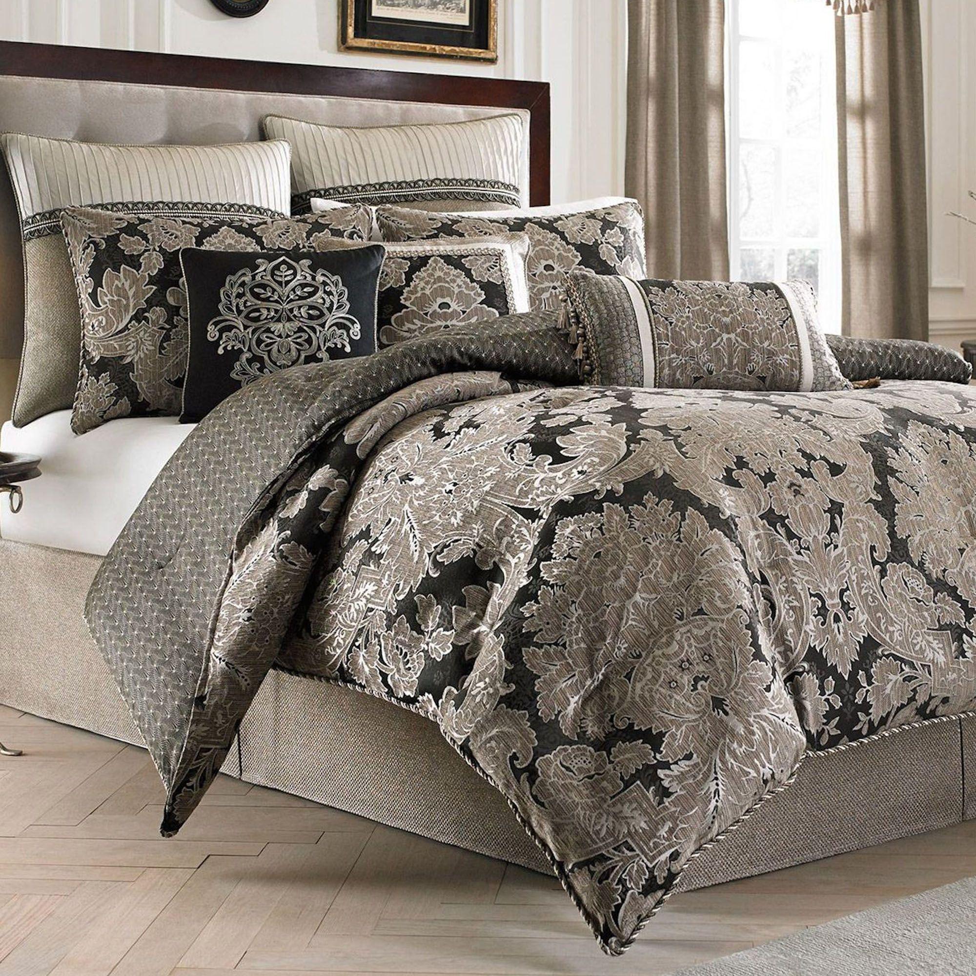 today piece bath set bedding product comforter overstock aurelio croscill sets shipping free
