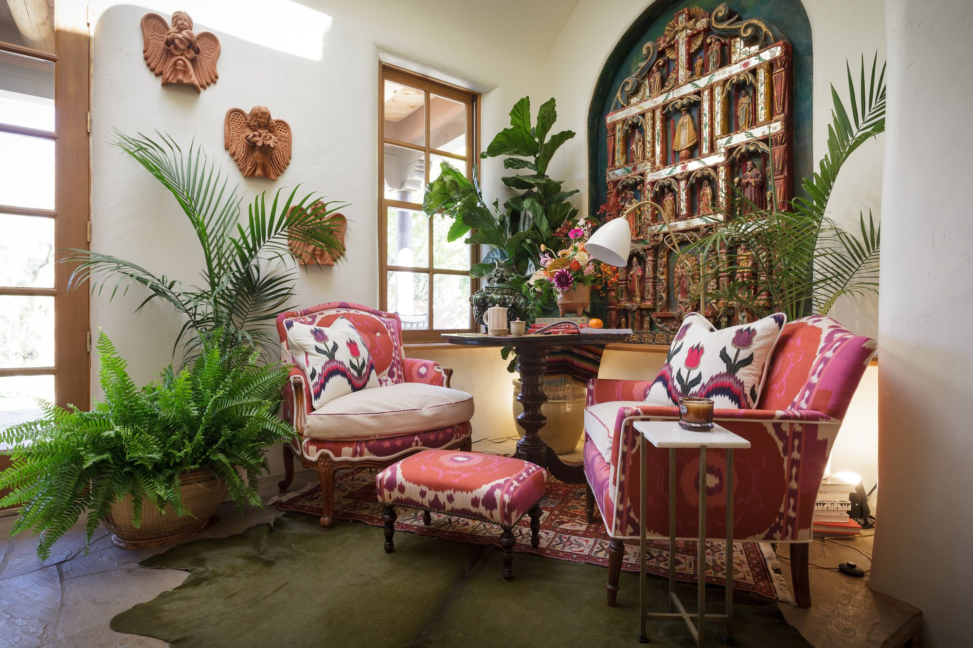 plants interior design french modern new mexico | Indoor Green ...