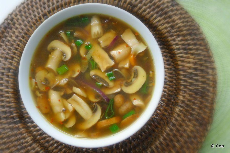 Wonderlijk Heldere champignonsoep   Recept - Koolhydraatarme, Voedsel ideeën HD-57
