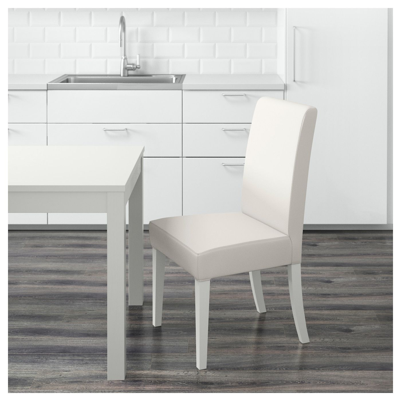 IKEA HENRIKSDAL Chair White dinning chairs, Chair