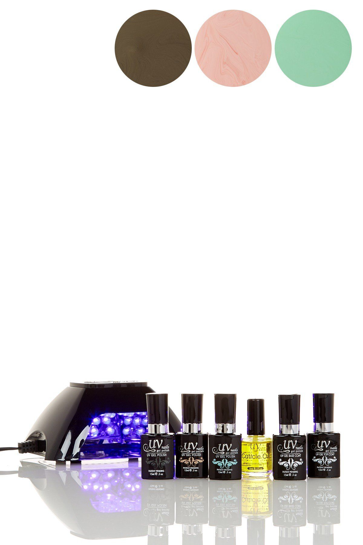 Salon quality gel nail kit