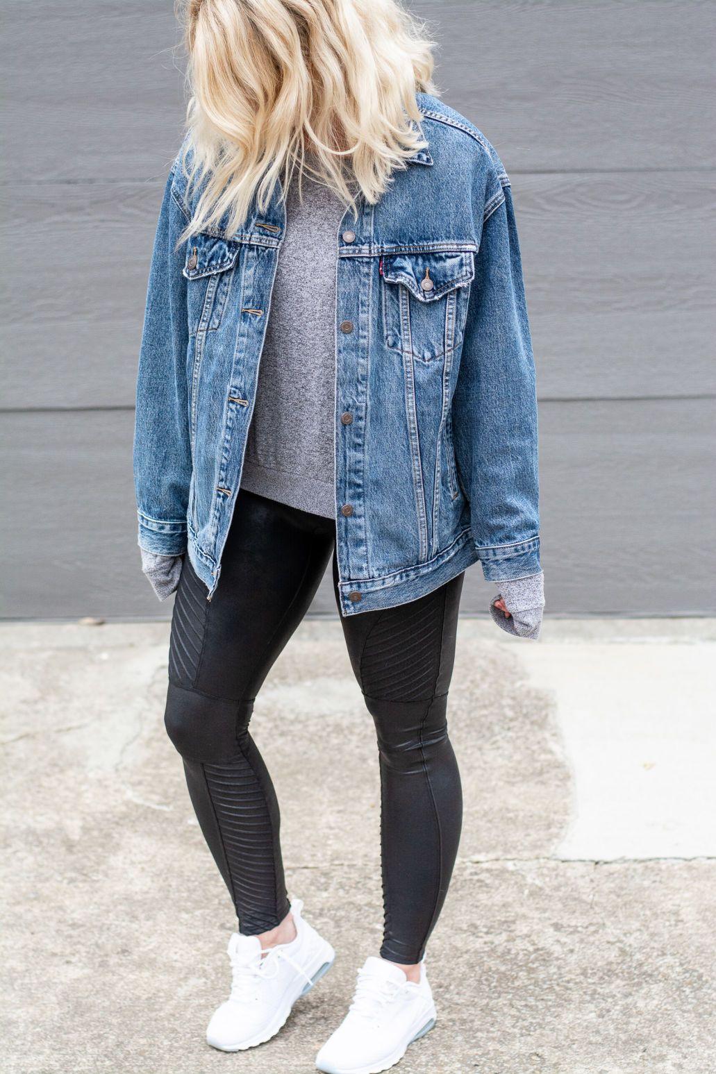 Oversized Jean Jacket Spanx Moto Leggings Lsr Oversized Jean Jacket Outfit Oversized Denim Jacket Outfit Oversized Jean Jacket [ 1547 x 1031 Pixel ]