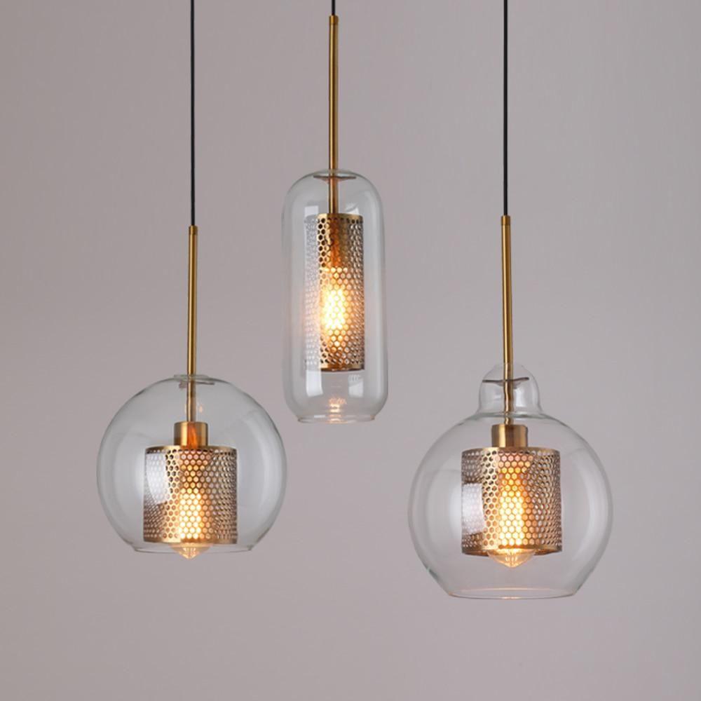 Loft Modern Pendant Light Glass Ball Hanging Lamp Kitchen Light Fixture Dining Hanglamp Living Room Luminaire Glass Ball Pendant Lighting Ball Pendant Lighting Hanging Lamp Fixtures