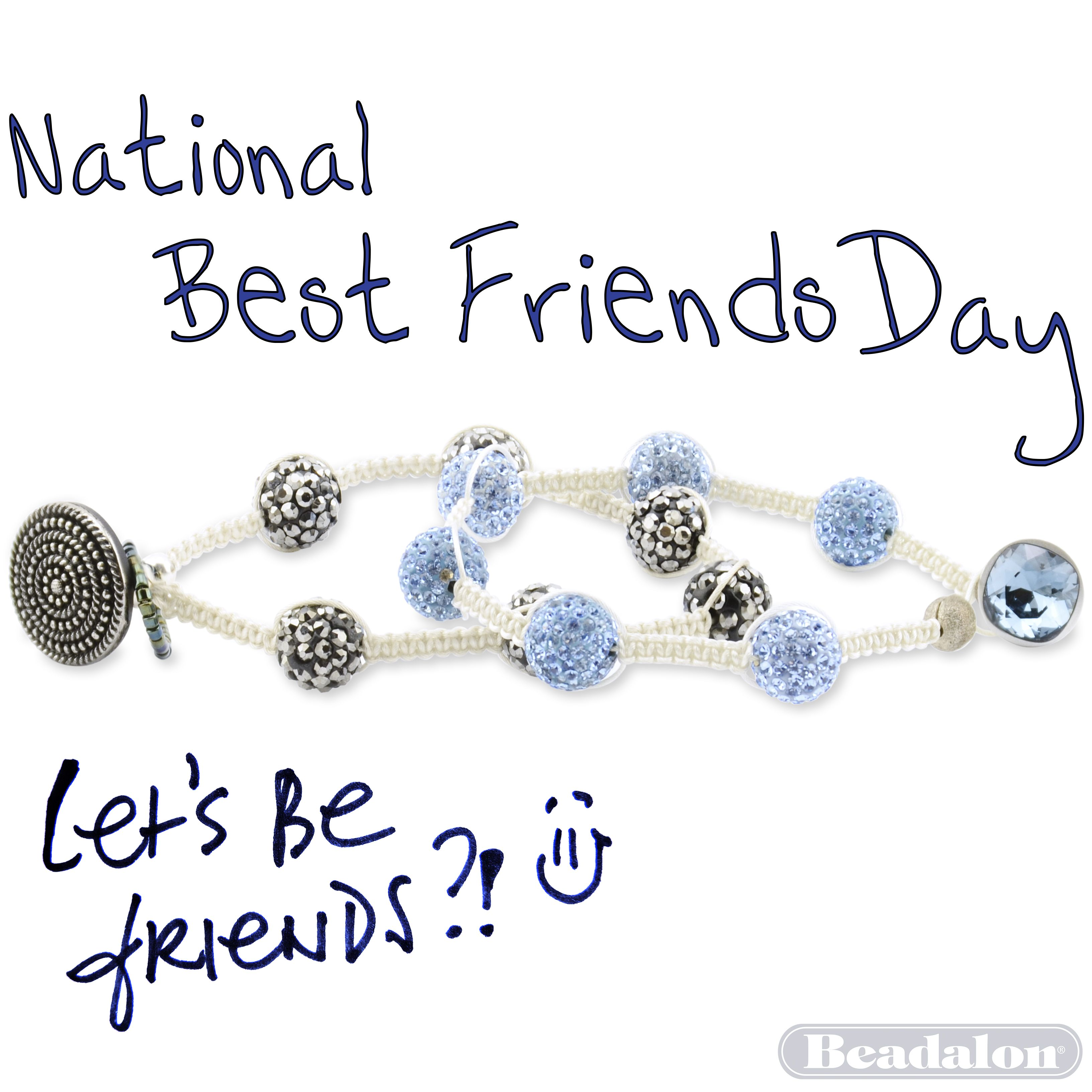 Friendship bracelets made with Beadalon Beading wire on the Tying ...