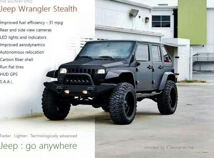 Jeep wrangler stealth