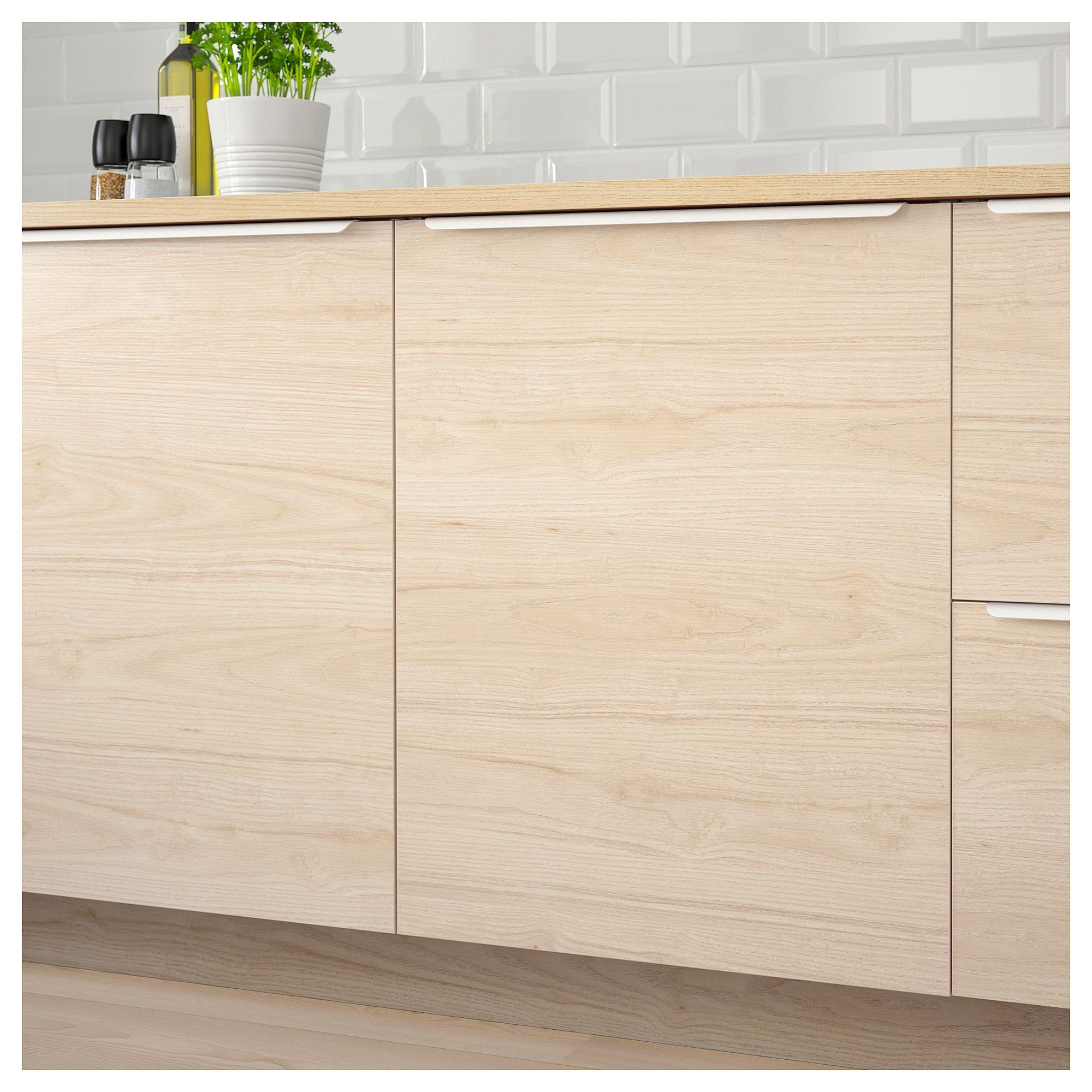 Askersund Door Light Ash Effect Ikea Kitchen Cabinets With Legs Ikea Ikea Kitchen