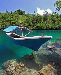 blue lake singkawang indonesia beautiful places pinterest