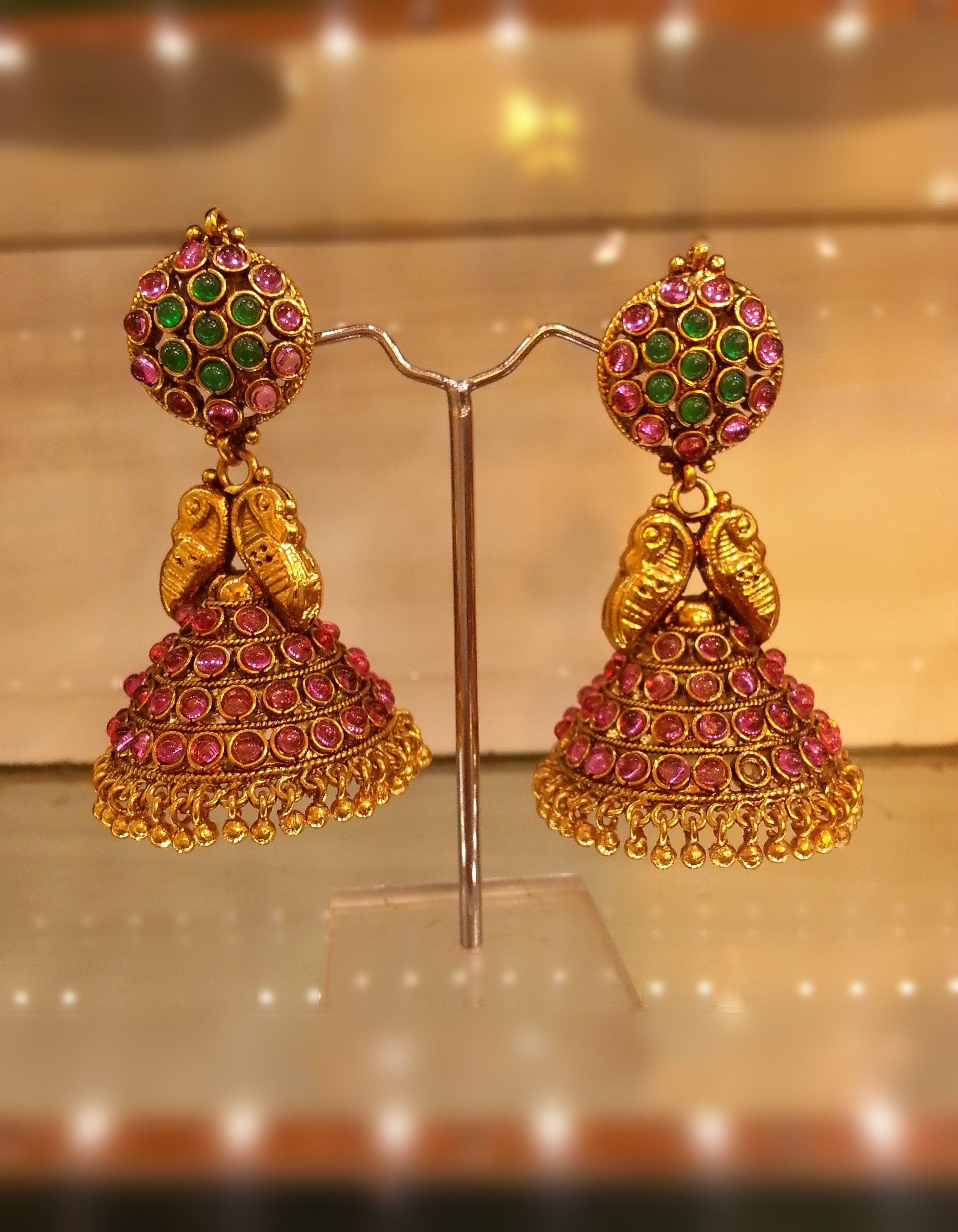 traditional kerala jewellery earrings - Google Search | For girls ...