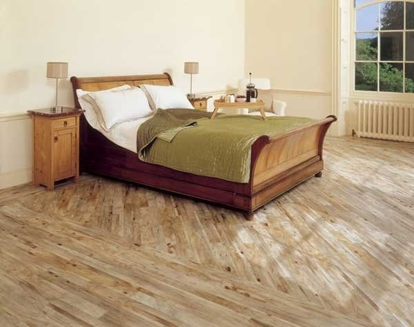 linoleum pros cons wood finish bedroom flooring interior ...