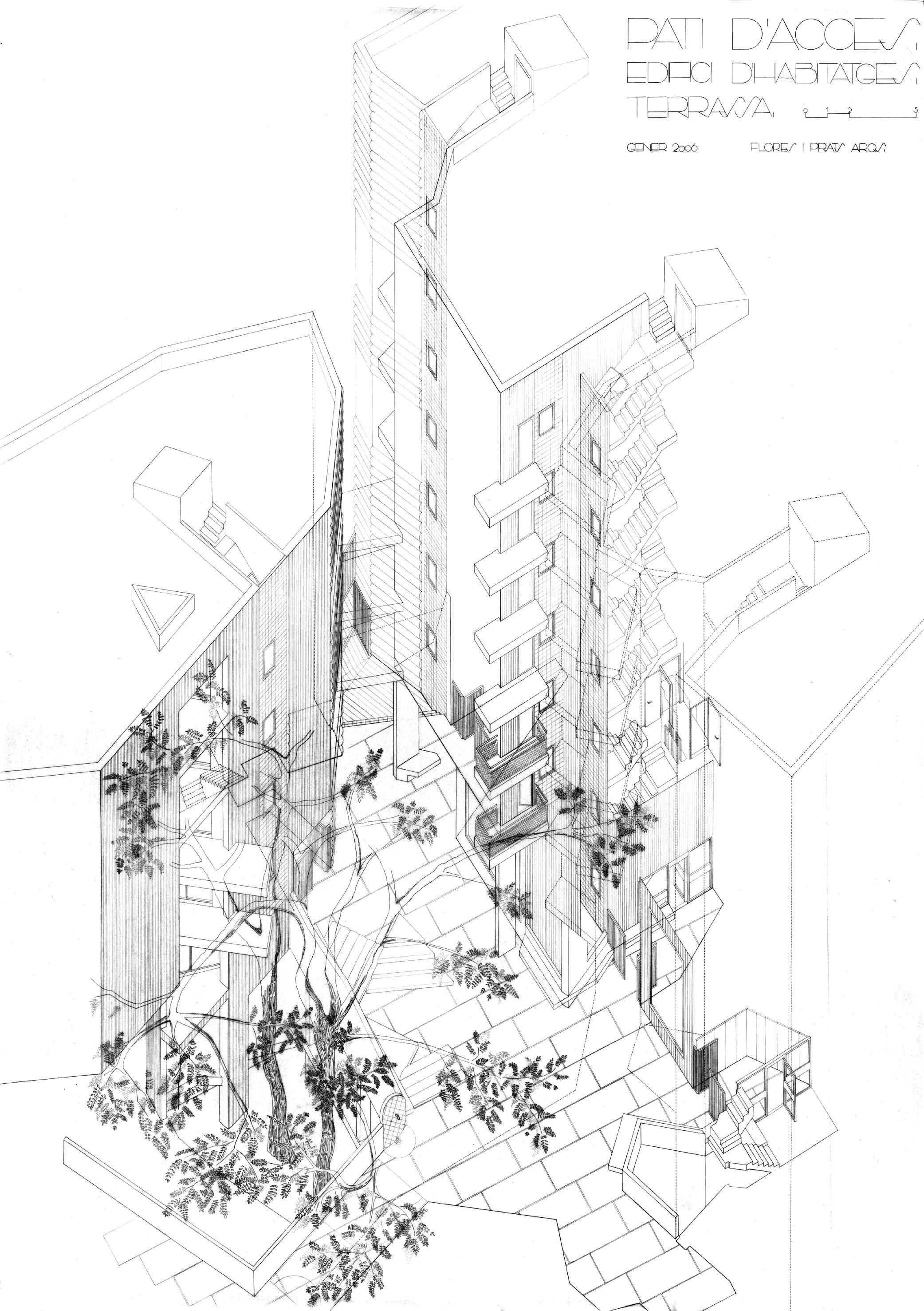 Edificio 111 Social Housing In Barcelona Flo