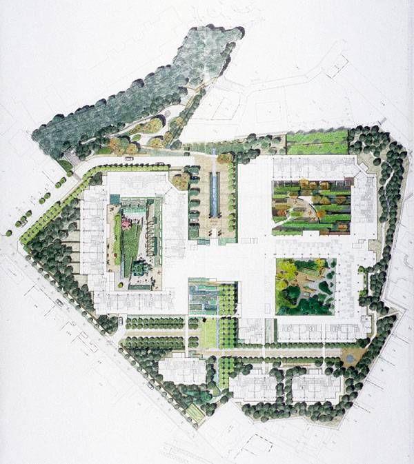Landscape Architecture At Retirement Center Sun City Takarazuka