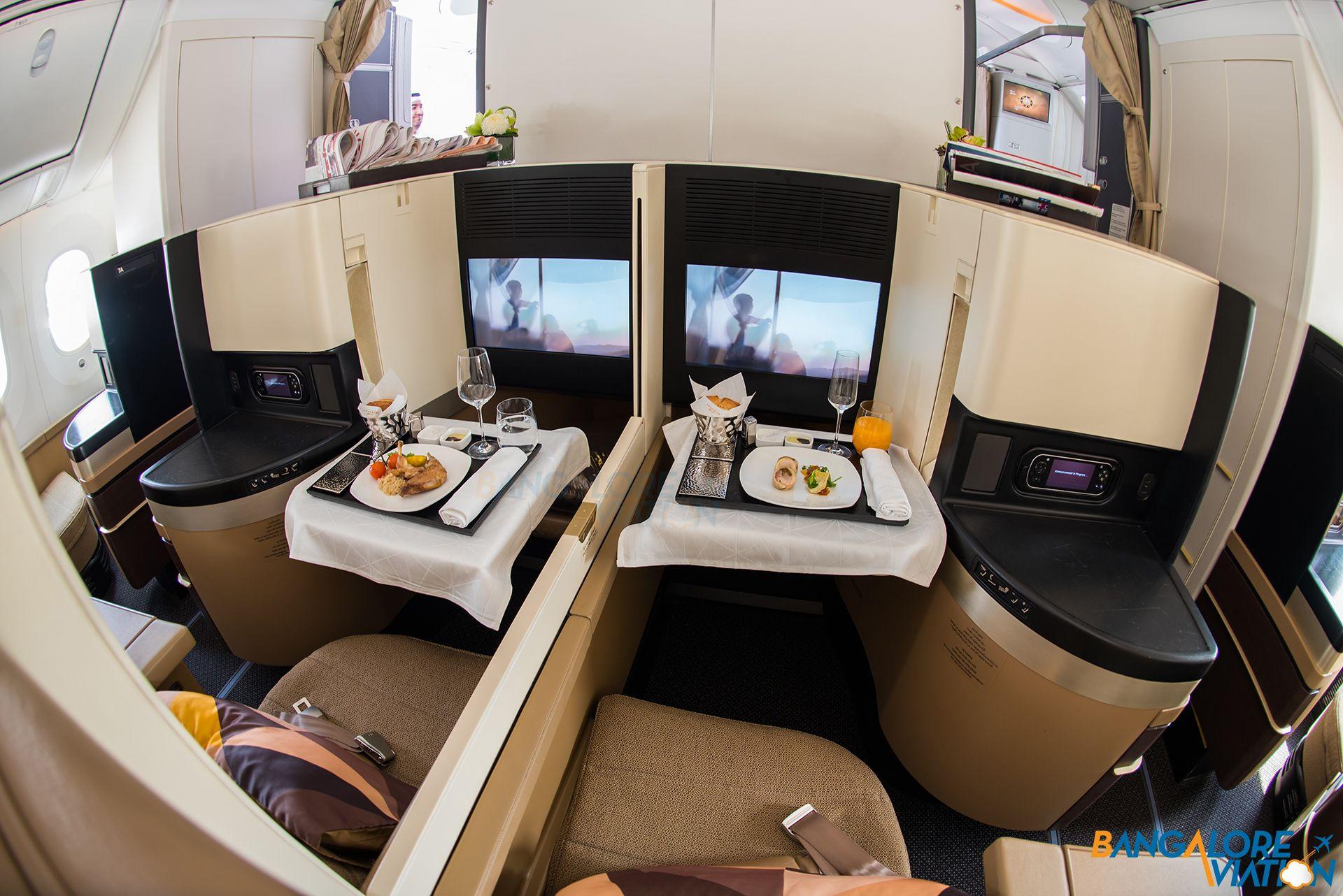 Etihad 787 Business Cl
