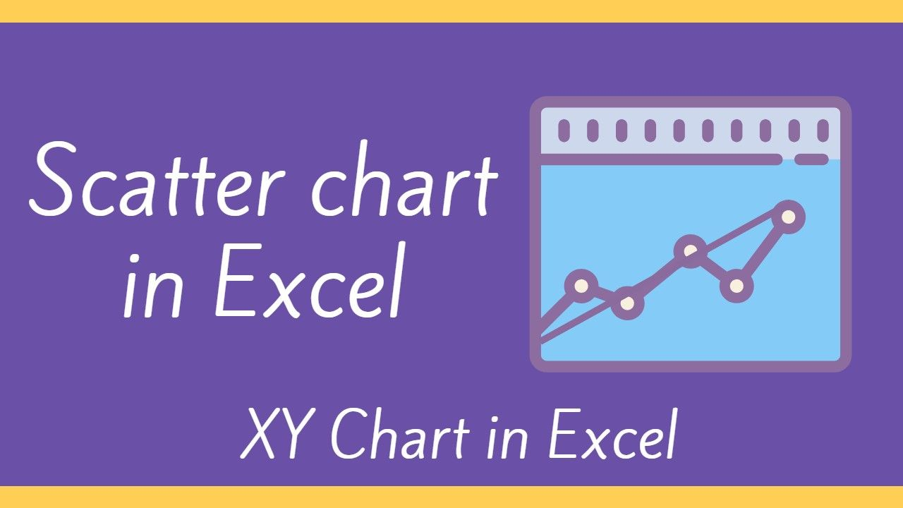 Make scatter chart in excel x y scatter chart ms excel