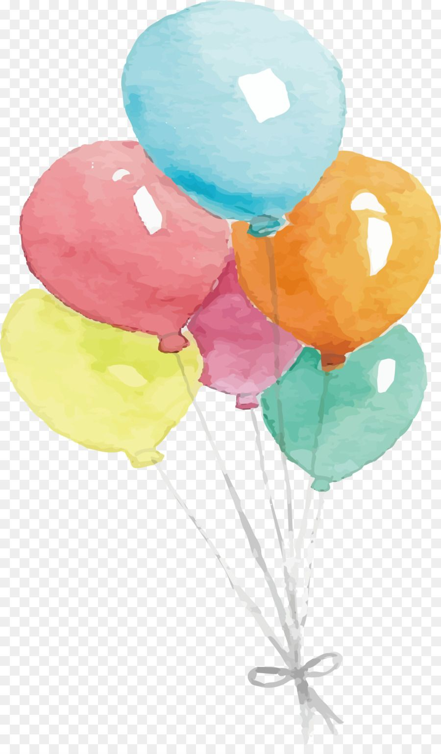 Watercolor Balloon Png Transparent Clipart Watercolor Painting Balloon Watercolour Flowers Balloon Painting Watercolor Paintings Watercolor Paintings Easy