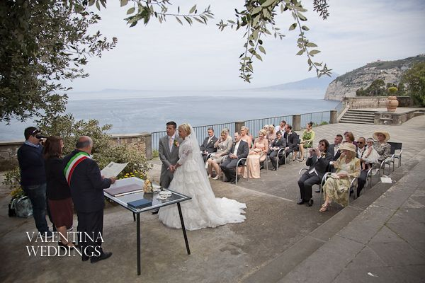 The Amalfi Coast In Italy Is The Prefect Wedding Location Sorrento